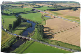 Temple Sowerby Bypass - Aerial Photo